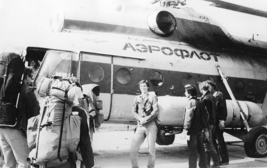 Jakub Unucka. Práce v SSSR v roce 1989.
