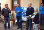 Jakub Unucka. a Petr Fiala na charitativním turnaji ODS.
