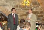 Jakub Unucka a David Sventek při kampani do krajského zastupitelstva 2012.