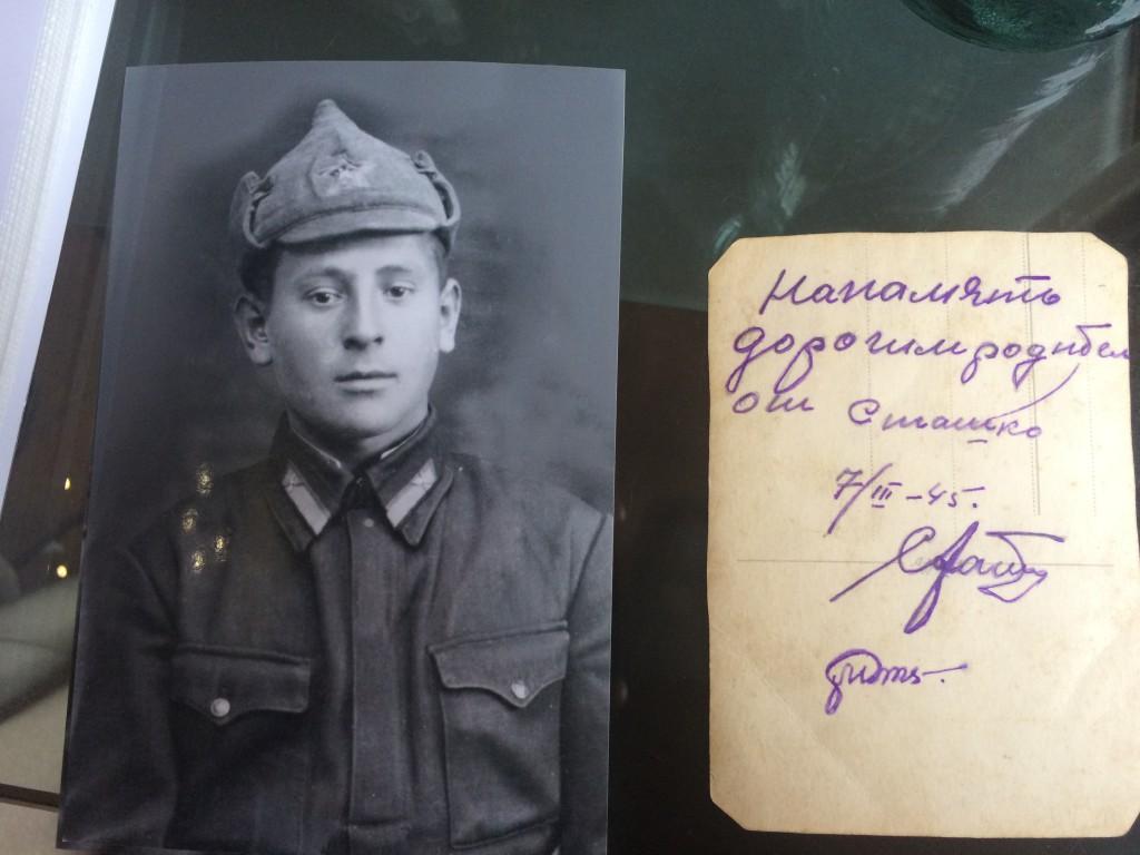 Jakub Unucka. Poslední fotografie V.A. Staška. Měsíc před smrtí v Klimkovicích ji poslal domů.